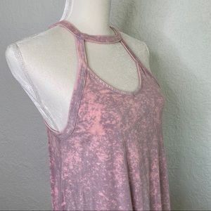 American Eagle Outfitters Tops - AMERICAN EAGLE Pink Soft and Sexy Tank top Size M